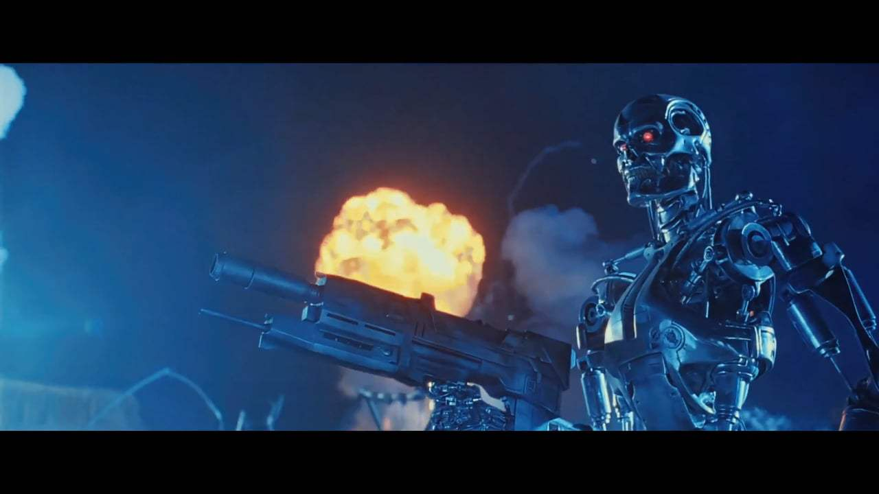 Terminator 2: Judgment Day International Re-Release Trailer (1991) Screen Capture #1