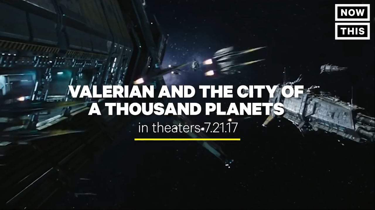 Valerian and the City of a Thousand Planets TV Spot - Action Packed (2017) Screen Capture #4
