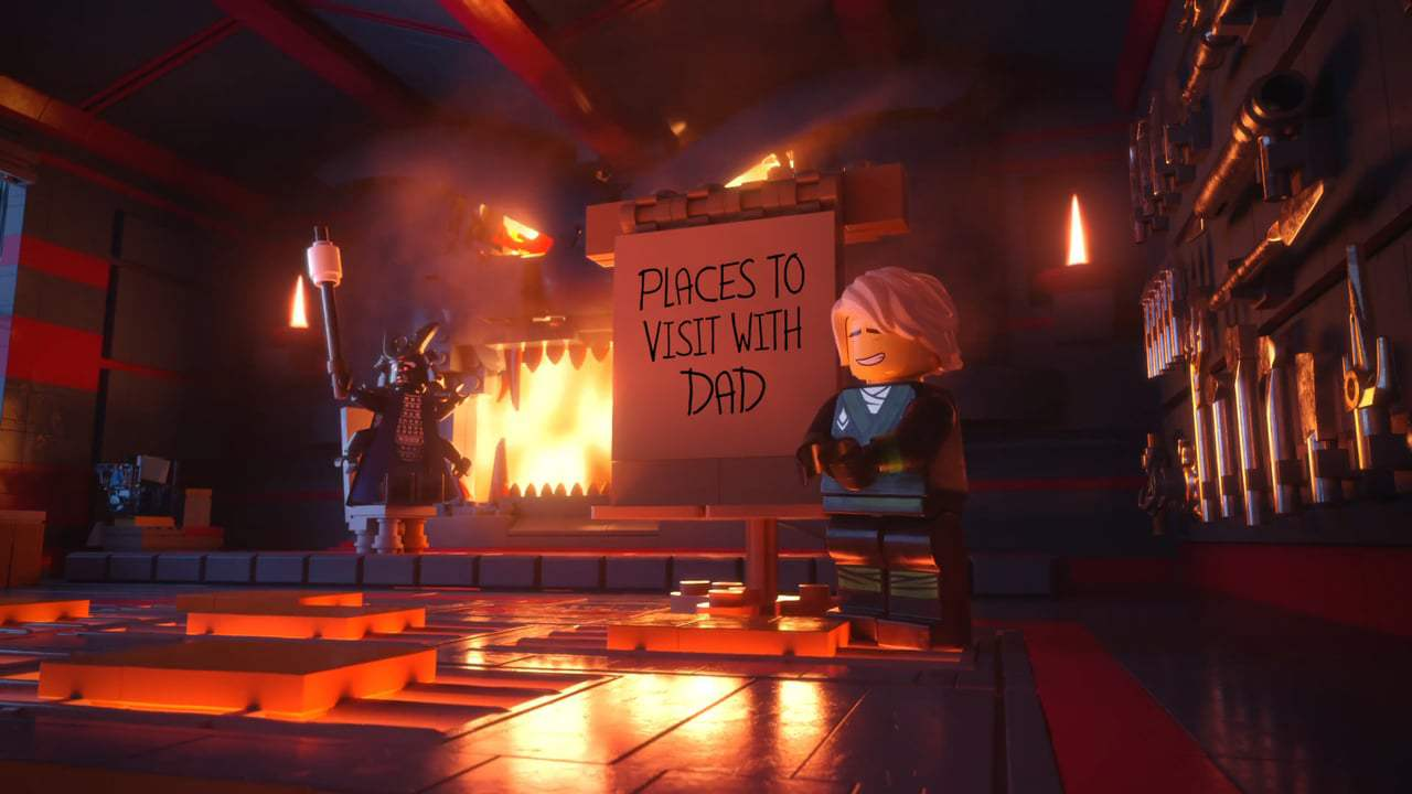 The Lego Ninjago Movie TV Spot - SDCC Greeting (2017) Screen Capture #1