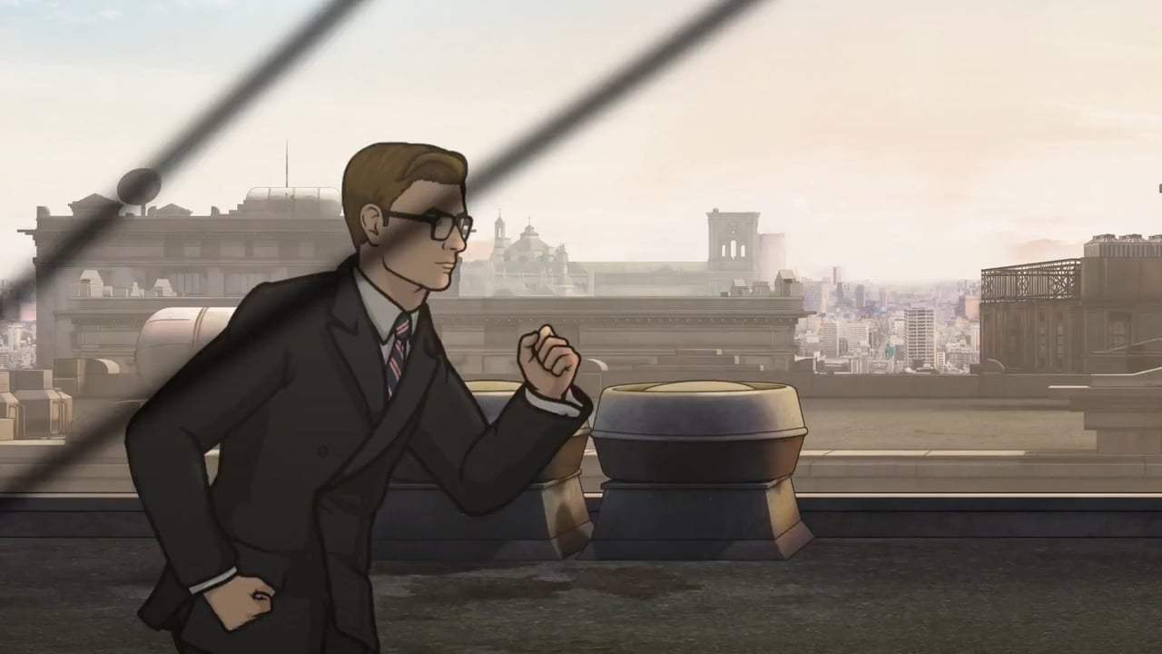 Kingsman: The Golden Circle Viral - Archer Meets Eggsy (2017) Screen Capture #1