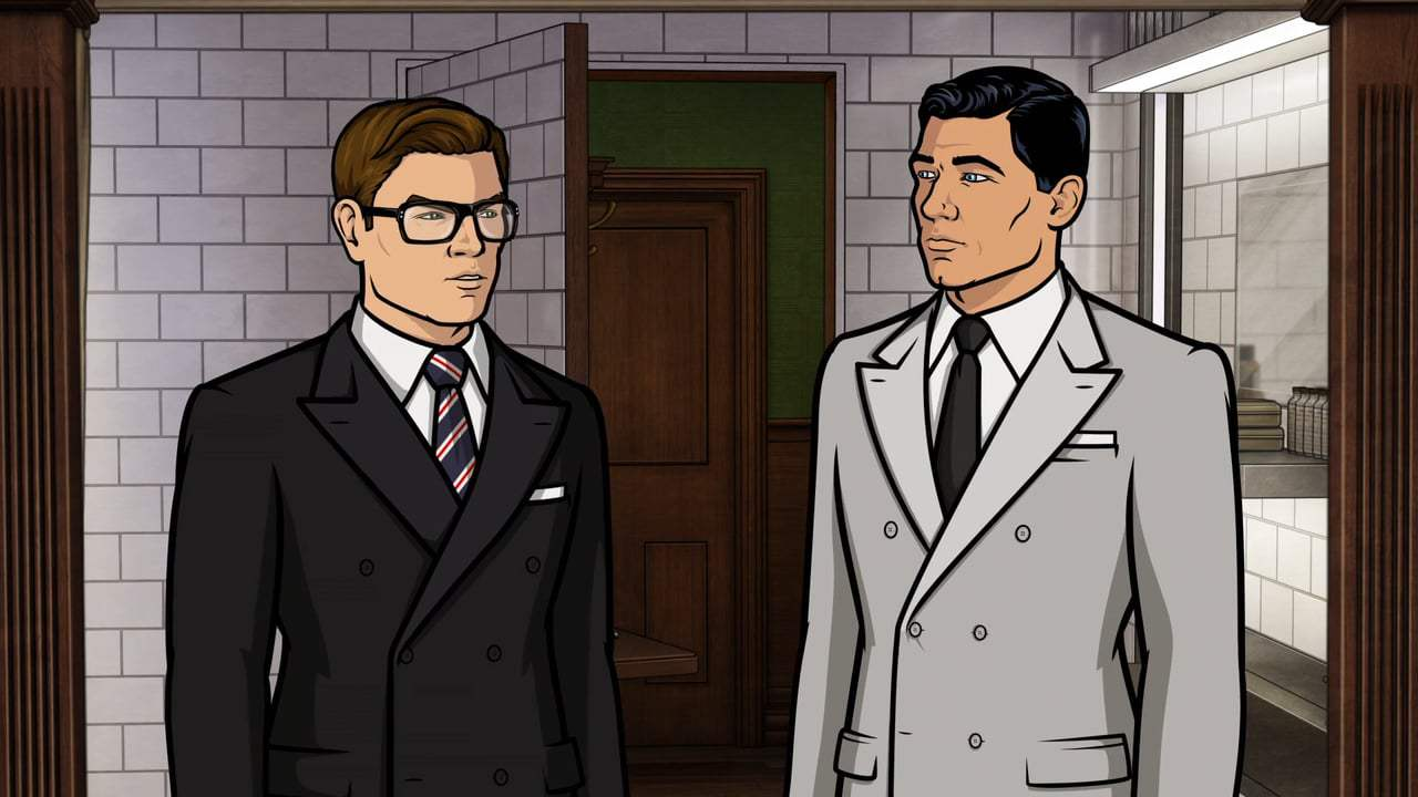 Kingsman: The Golden Circle Viral - Archer Meets Eggsy (2017) Screen Capture #3