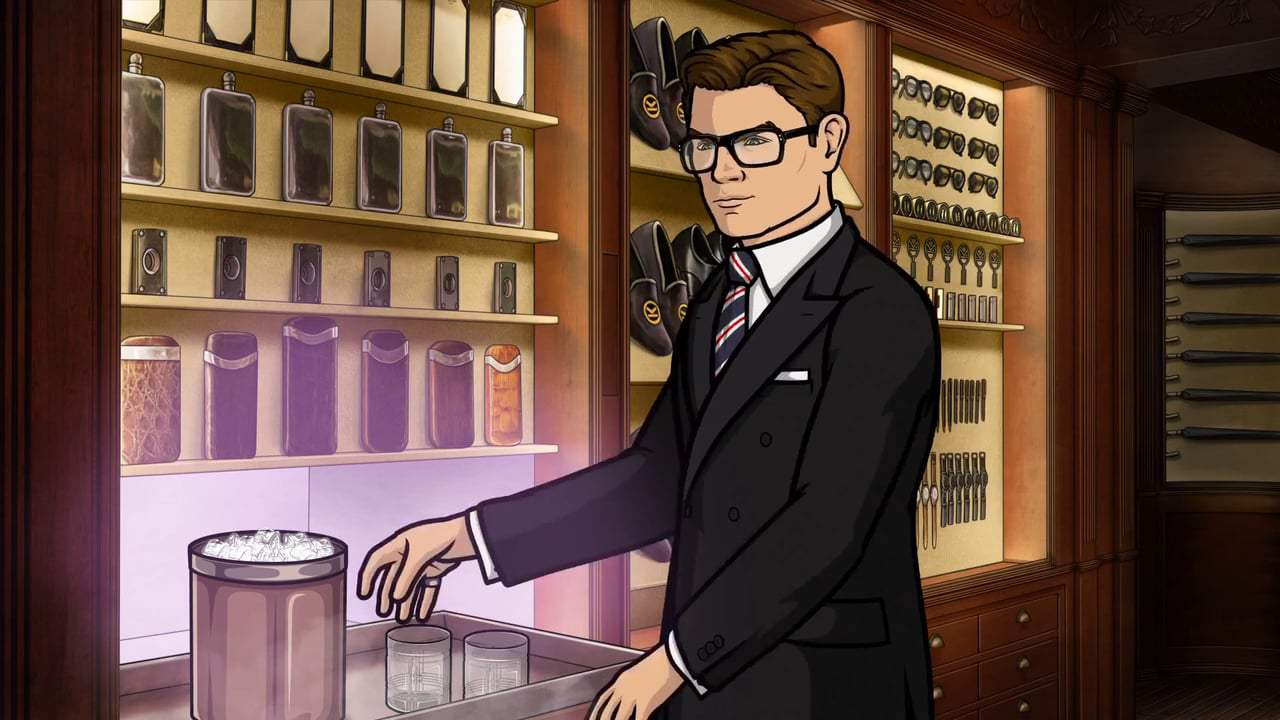 Kingsman: The Golden Circle Viral - Archer Meets Eggsy (2017) Screen Capture #4