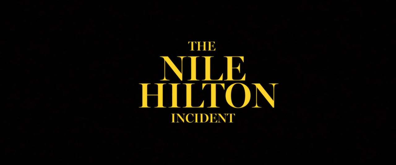 The Nile Hilton Incident Trailer (2017) Screen Capture #4