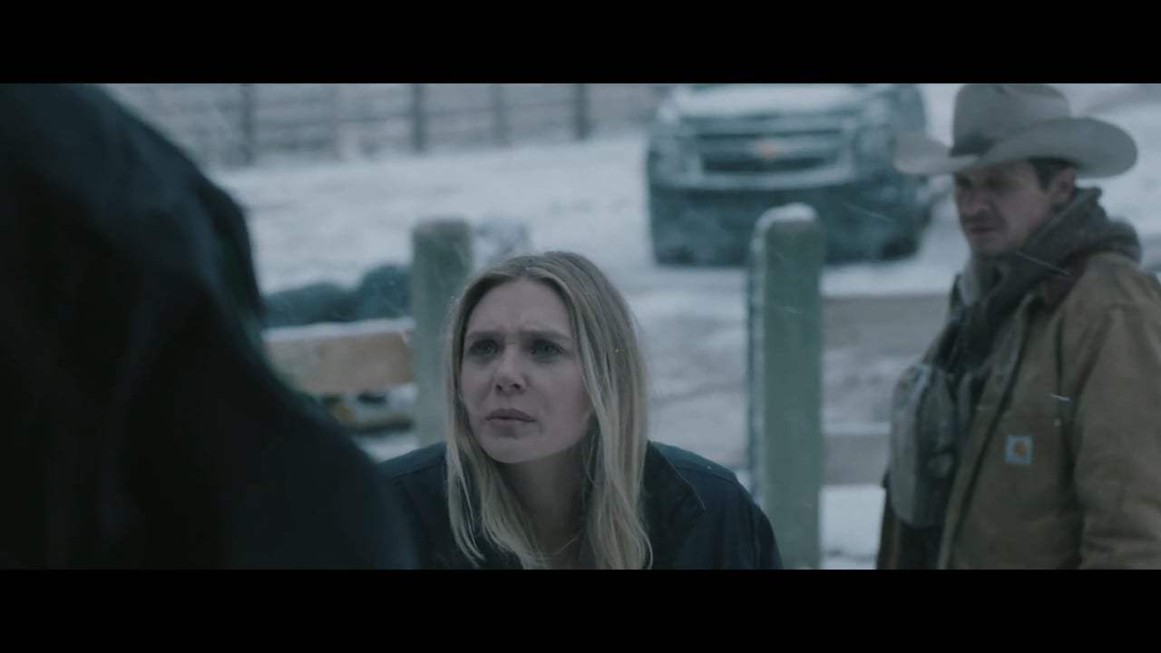 Wind River (2017) - Meeting Jane Screen Capture #2