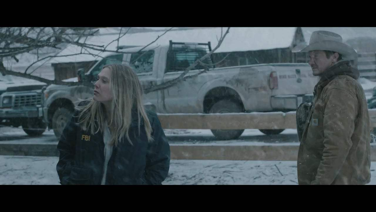 Wind River (2017) - Meeting Jane Screen Capture #3