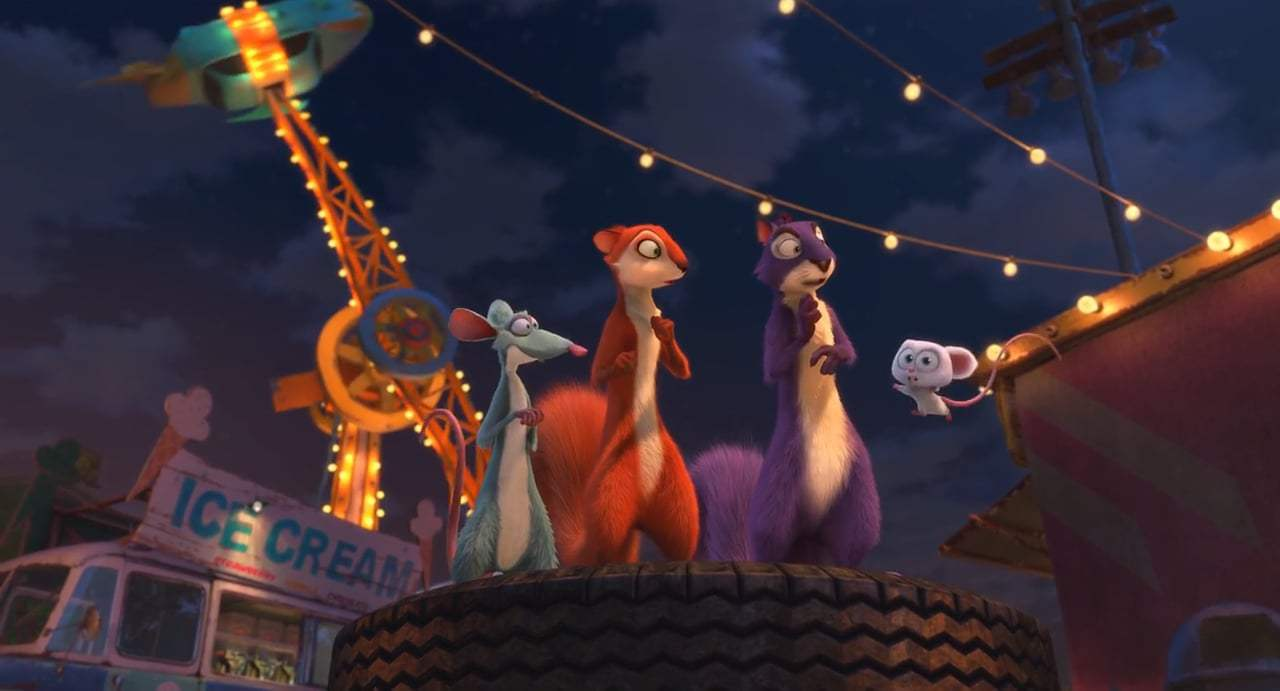 The Nut Job 2: Nutty by Nature (2017) - Cotton Candy Swirl Screen Capture #4