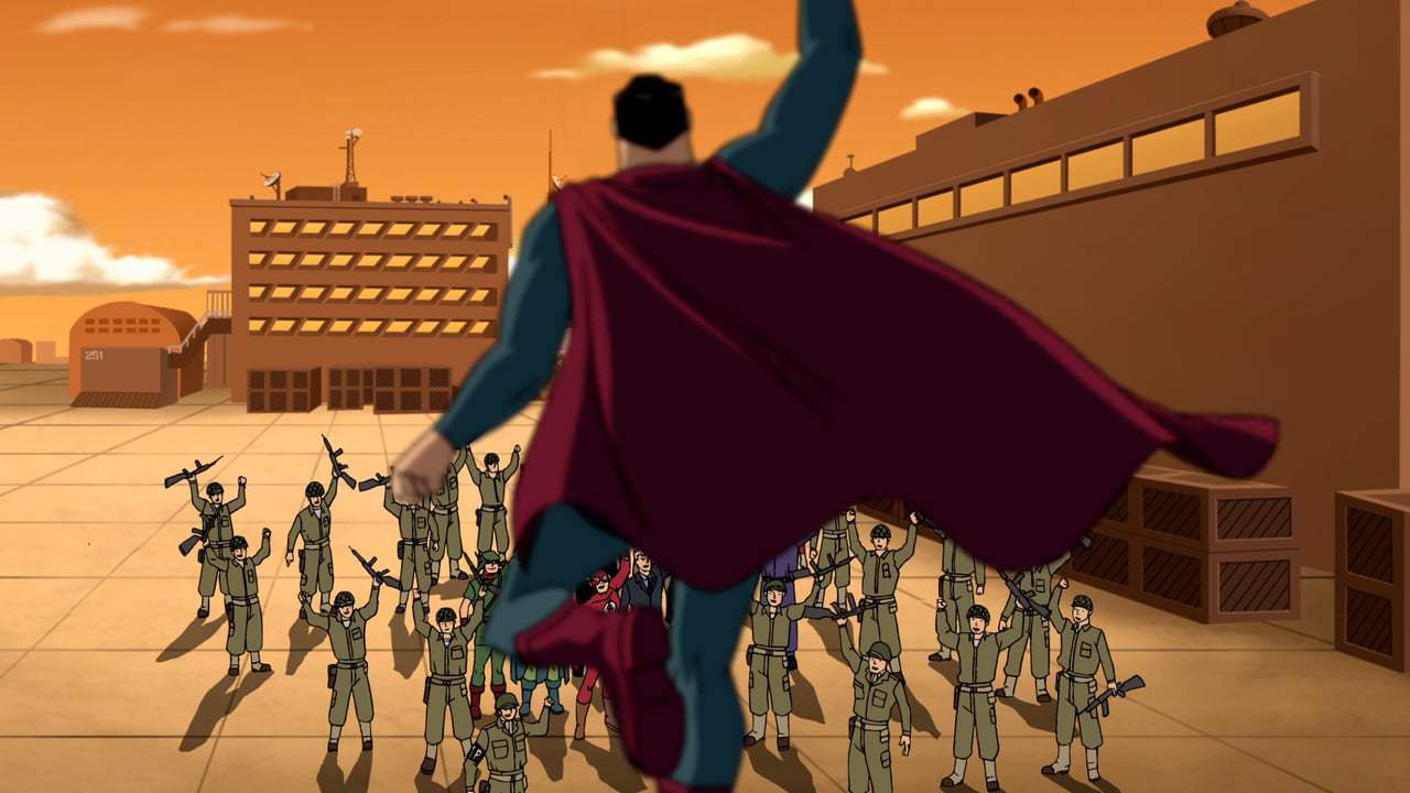 Justice League: The New Frontier Trailer (2008) Screen Capture #4