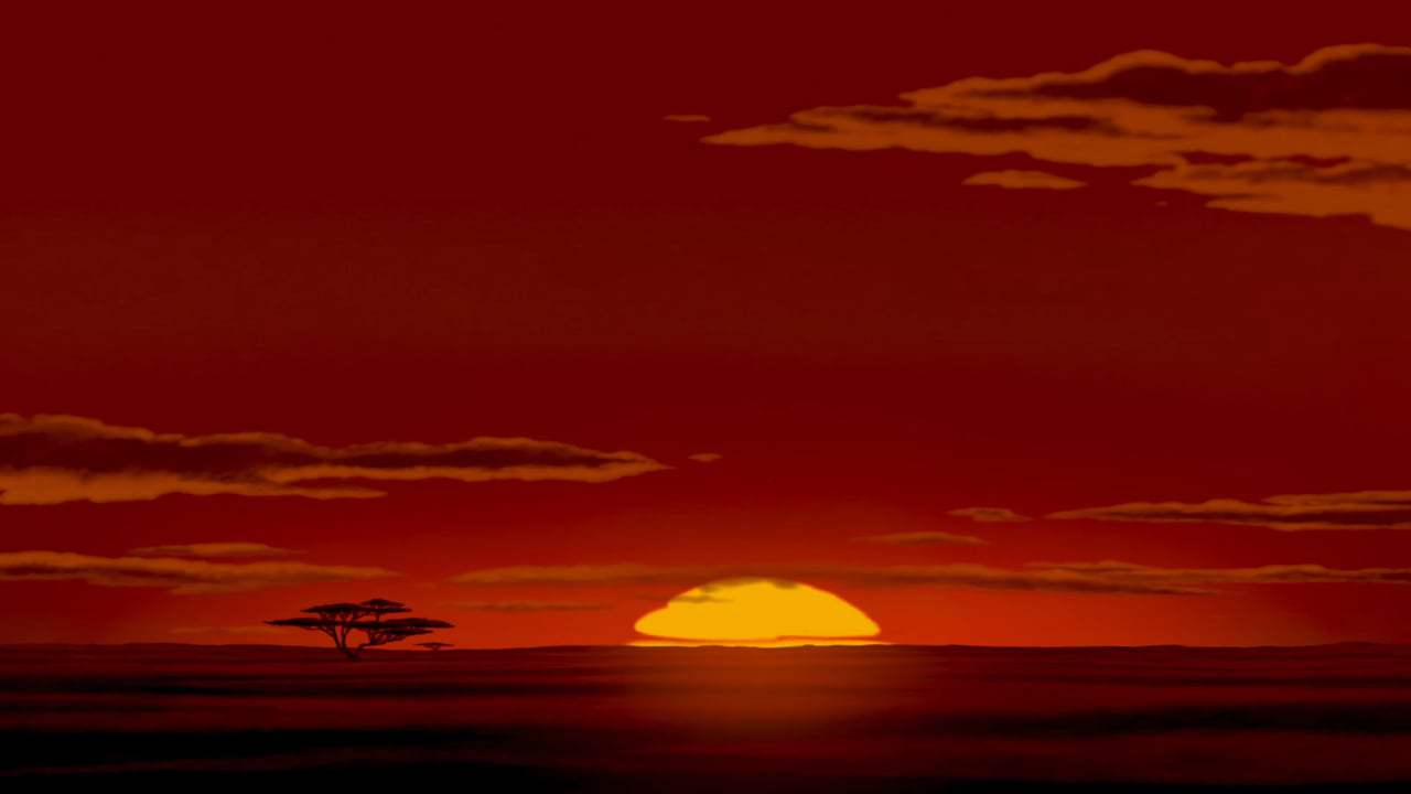 The Lion King Theatrical Trailer (1994) Screen Capture #1