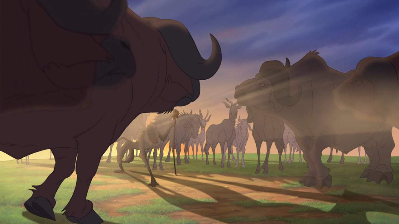 The Lion King Theatrical Trailer (1994) Screen Capture #4