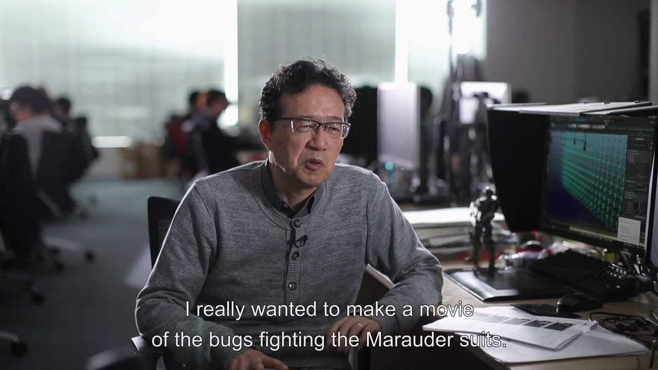 Starship Troopers: Traitor of Mars Featurette - Warrior Bugs (2017) Screen Capture #1