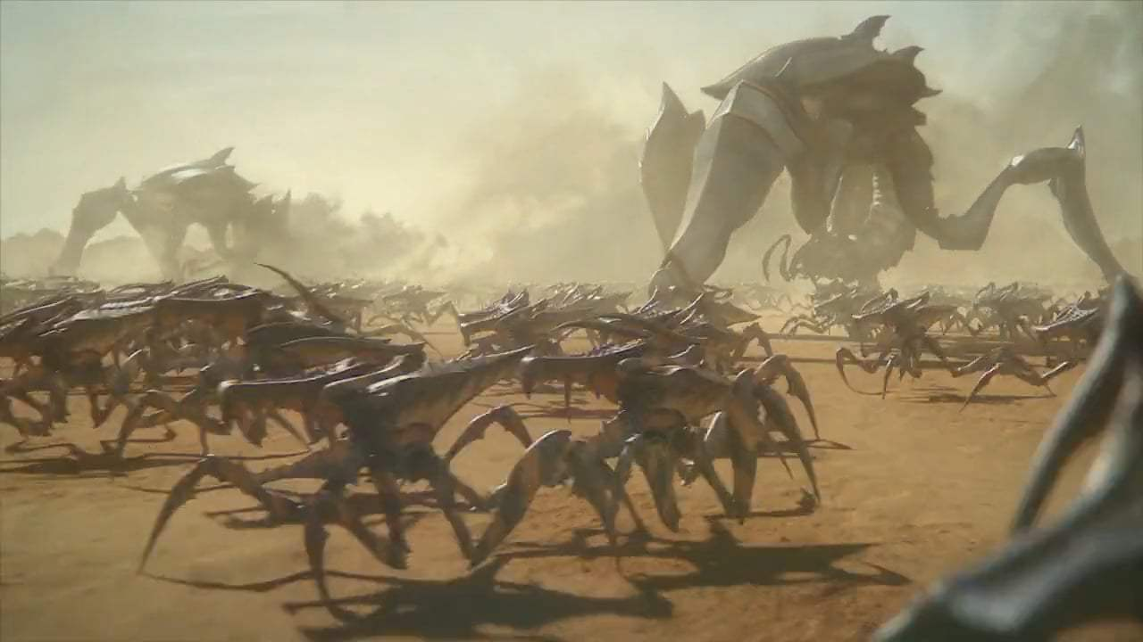 Starship Troopers: Traitor of Mars (2017) - Here We Go Again Screen Capture #2
