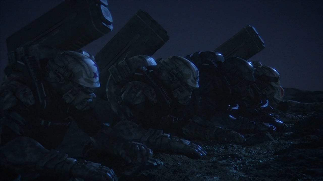 Starship Troopers: Traitor of Mars (2017) - Teach Them Not To Mess With Mars Screen Capture #2