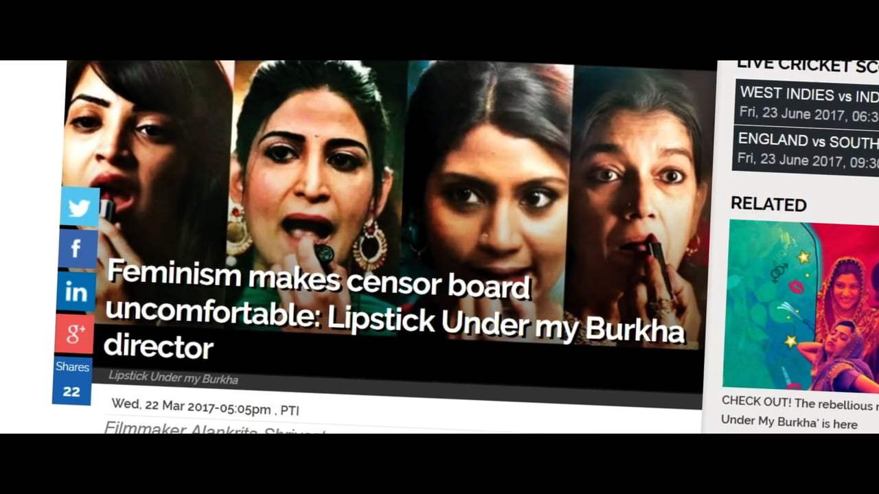 Lipstick Under My Burkha Trailer (2017) Screen Capture #1
