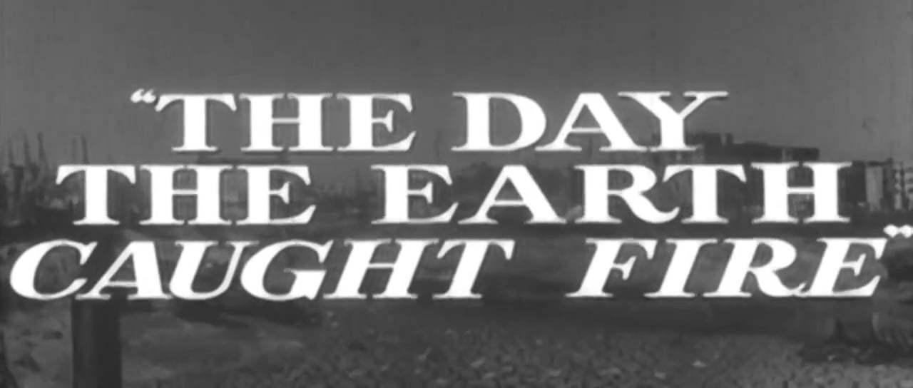 The Day the Earth Caught Fire Trailer (1961) Screen Capture #1