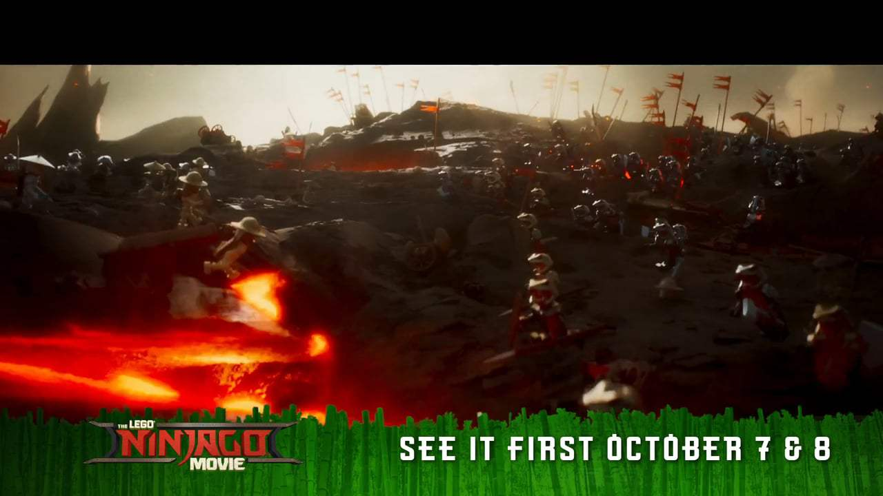 The Lego Ninjago Movie TV Spot - Piece of the Action (2017) Screen Capture #2