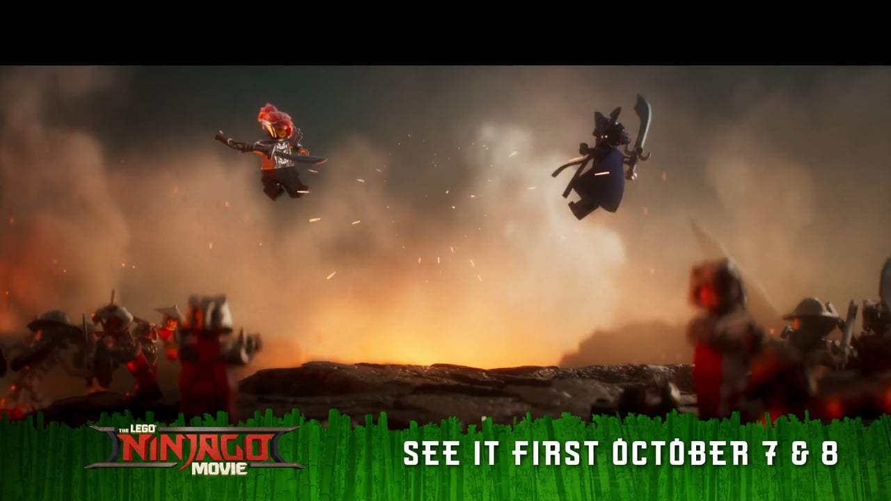 The Lego Ninjago Movie TV Spot - Piece of the Action (2017) Screen Capture #3
