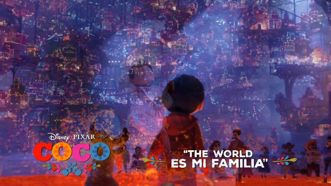 Coco TV Spot - The World Es Mi Familia (2017) Screen Capture #2