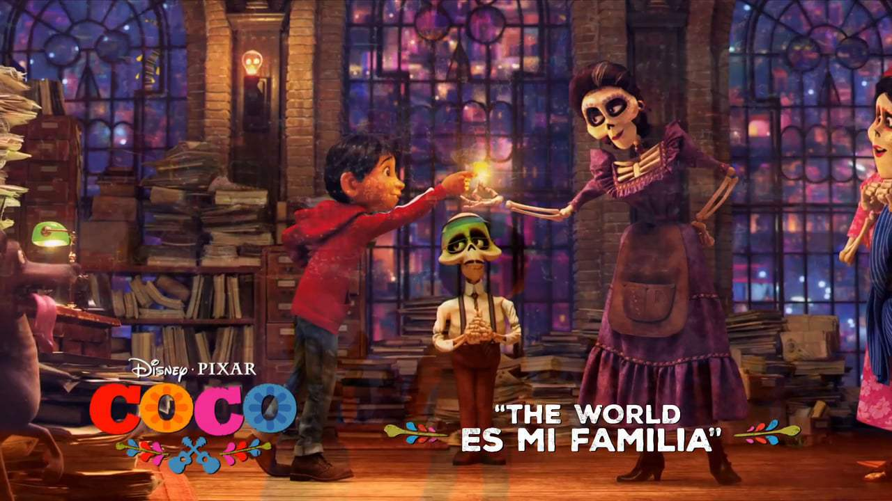Coco TV Spot - The World Es Mi Familia (2017) Screen Capture #3