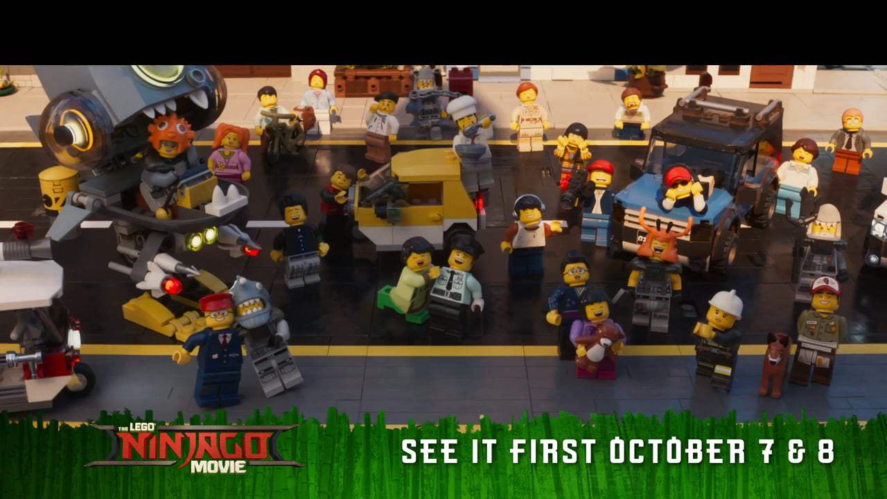 The Lego Ninjago Movie TV Spot - Kitty (2017) Screen Capture #1