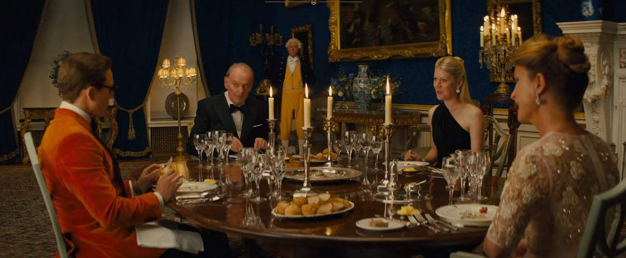 Kingsman: The Golden Circle TV Spot - Dinner (2017) Screen Capture #1