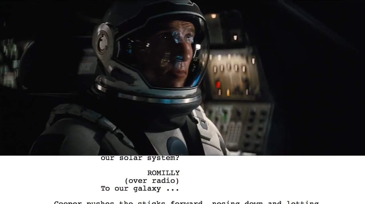 Interstellar Featurette - From Script to Screen: Dr. Brand First Handshake (2014) Screen Capture #2