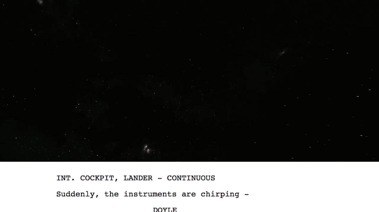 Interstellar Featurette - From Script to Screen: Dr. Brand First Handshake (2014) Screen Capture #4