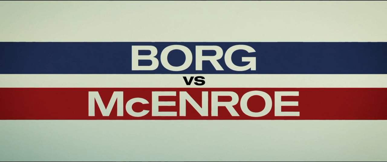 Borg/McEnroe (2017) - Like Rock Stars Screen Capture #4