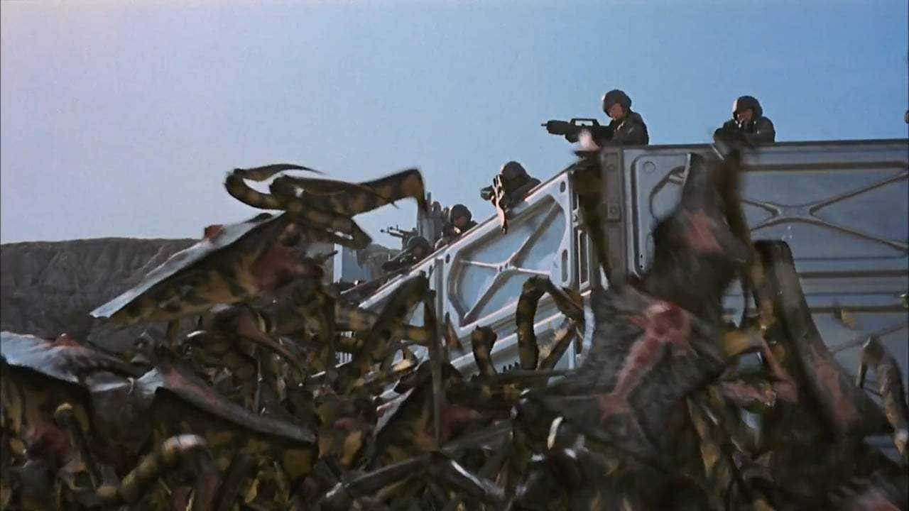 Starship Troopers Theatrical Trailer (1997) Screen Capture #3