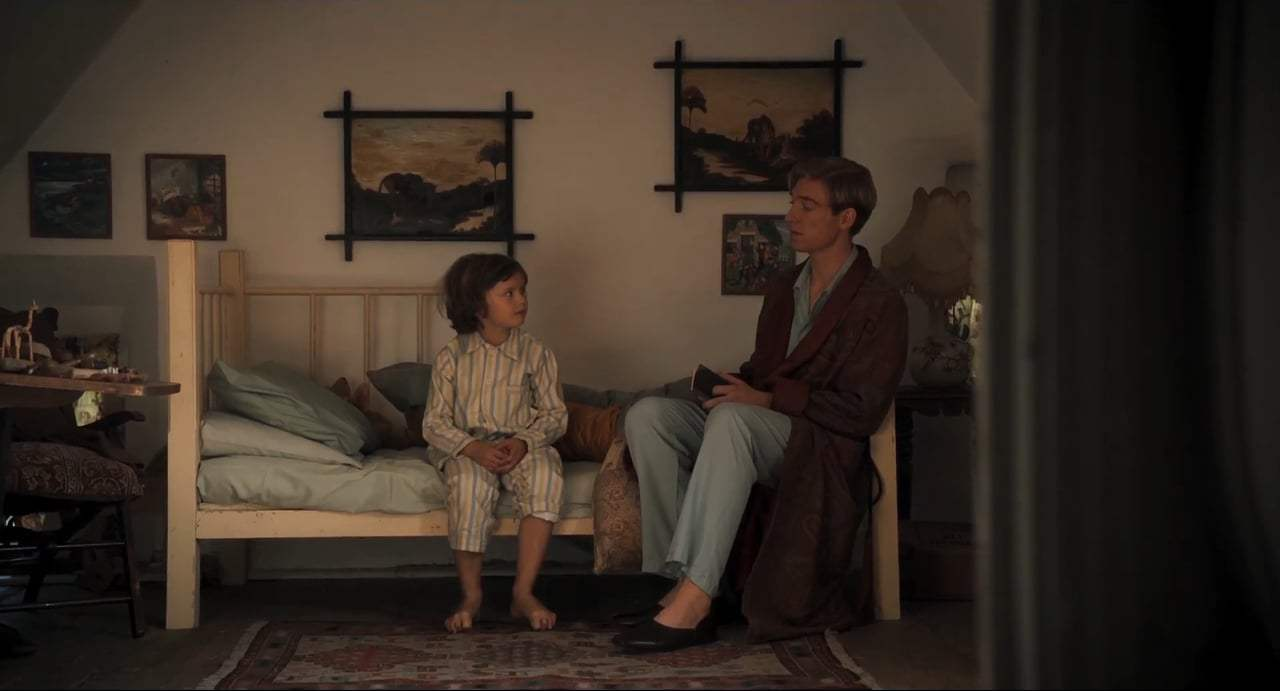 Goodbye Christopher Robin (2017) - Golden Gown Screen Capture #2