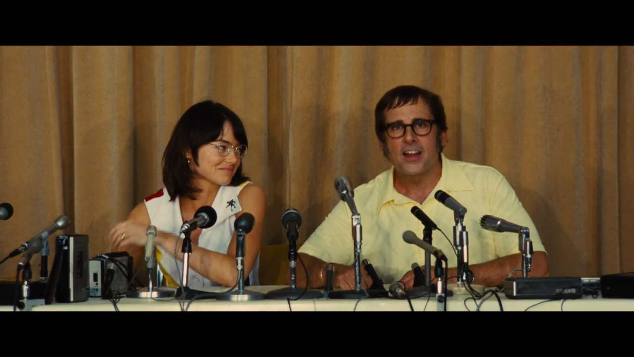 Battle of the Sexes (2017) - Press Conference Screen Capture #4