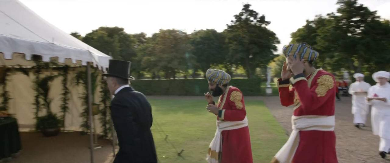 Victoria and Abdul (2017) - Garden Party Screen Capture #1