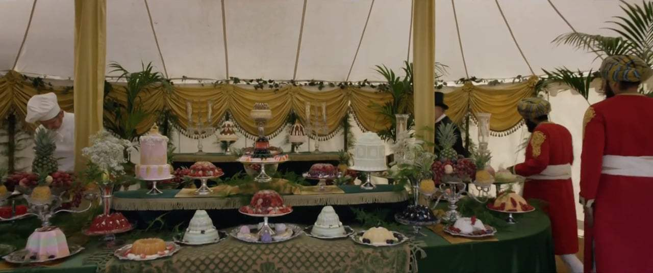 Victoria and Abdul (2017) - Garden Party Screen Capture #2