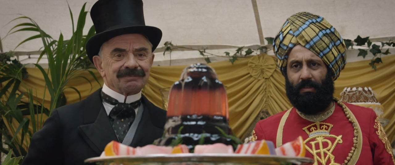 Victoria and Abdul (2017) - Garden Party Screen Capture #4