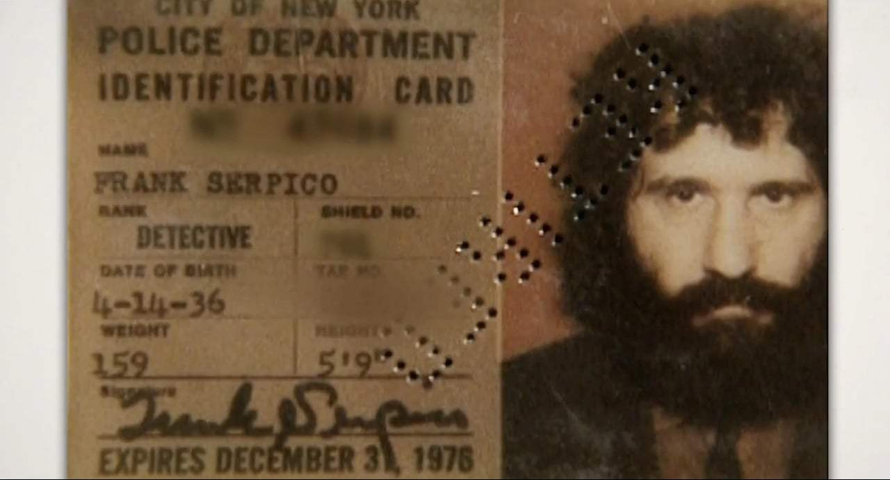 """frank serpico In the opening scene of the 1973 movie """"serpico,"""" i am shot in the face—or to be  more accurate, the character of frank serpico, played by al."""