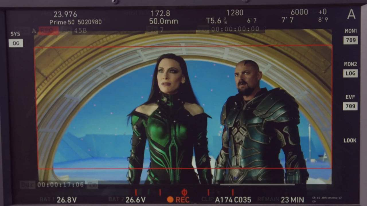 Thor: Ragnarok Featurette - Hela Good (2017) Screen Capture #1