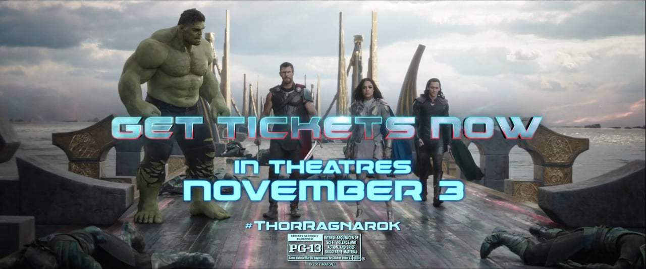 Thor: Ragnarok TV Spot - Strongest (2017) Screen Capture #4