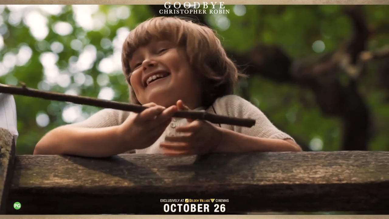 Goodbye Christopher Robin Featurette - A.A. Milne (2017) Screen Capture #3
