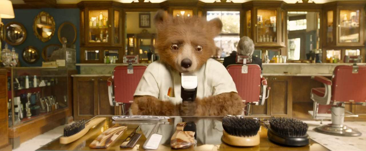 Paddington 2 TV Spot - Barbershop (2018) Screen Capture #1
