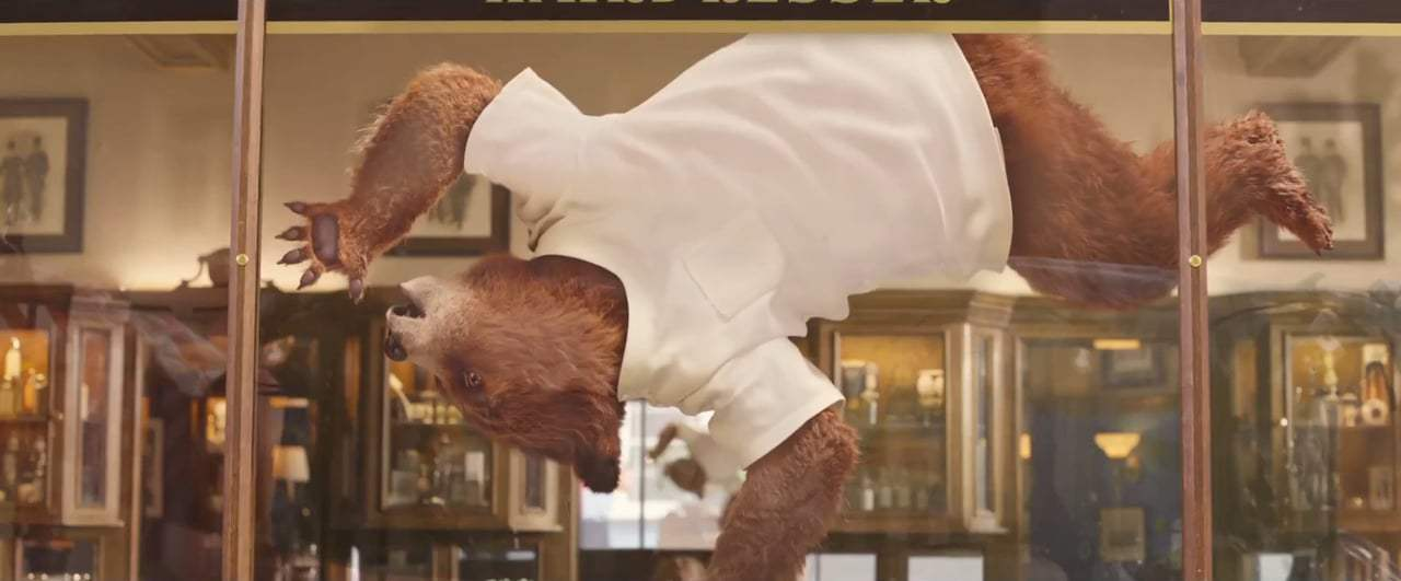 Paddington 2 TV Spot - Barbershop (2018) Screen Capture #4