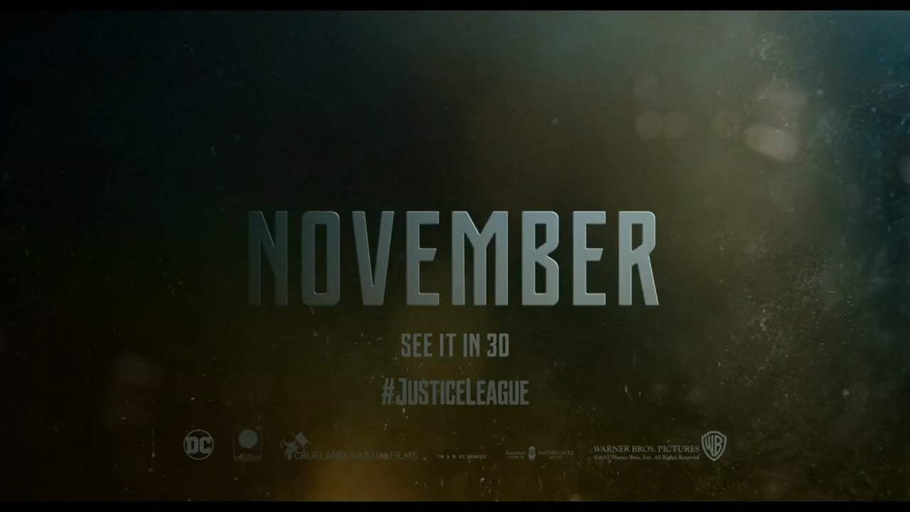 Justice League TV Spot - Not a Saying (2017) Screen Capture #4