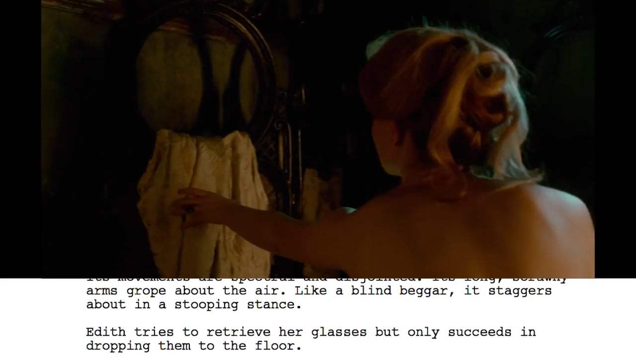 Crimson Peak Featurette - From Script to Screen: Bath Scene (2015) Screen Capture #3