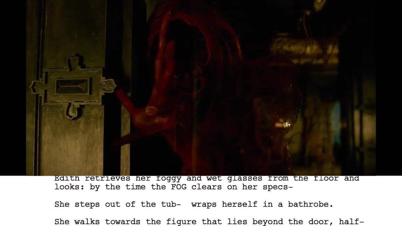 Crimson Peak Featurette - From Script to Screen: Bath Scene (2015) Screen Capture #4