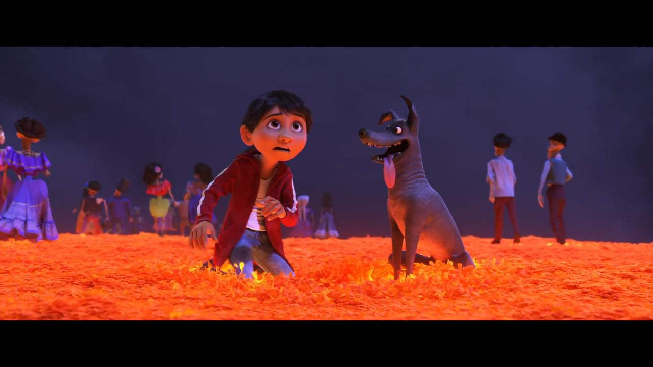Coco (2017) - Land of the Dead Screen Capture #2
