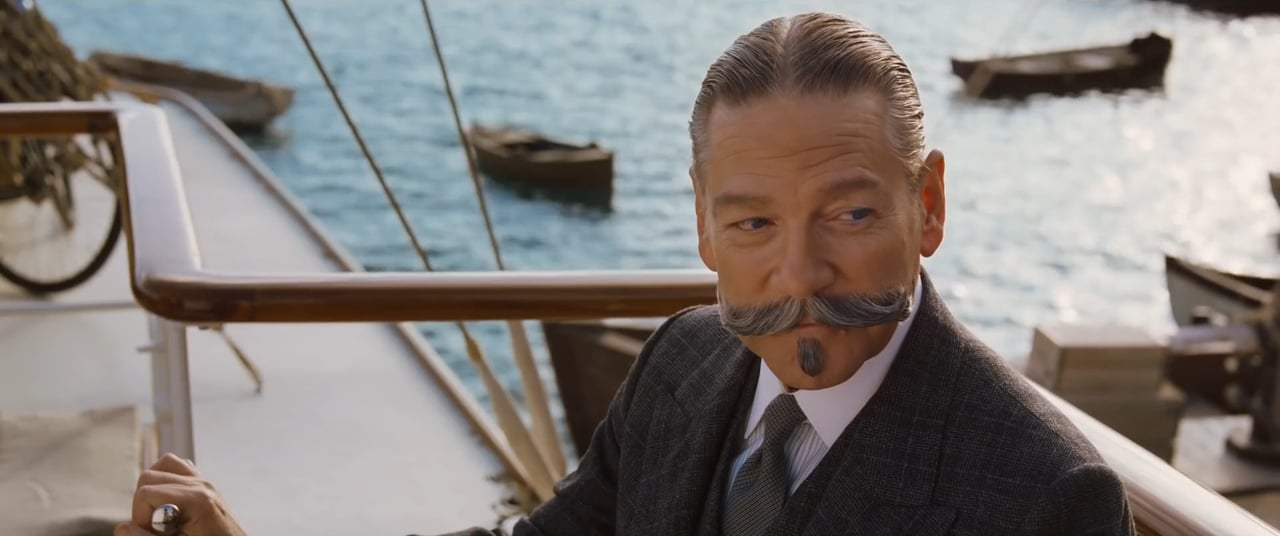 Murder on the Orient Express (2017) - I Know Your Mustache Screen Capture #4