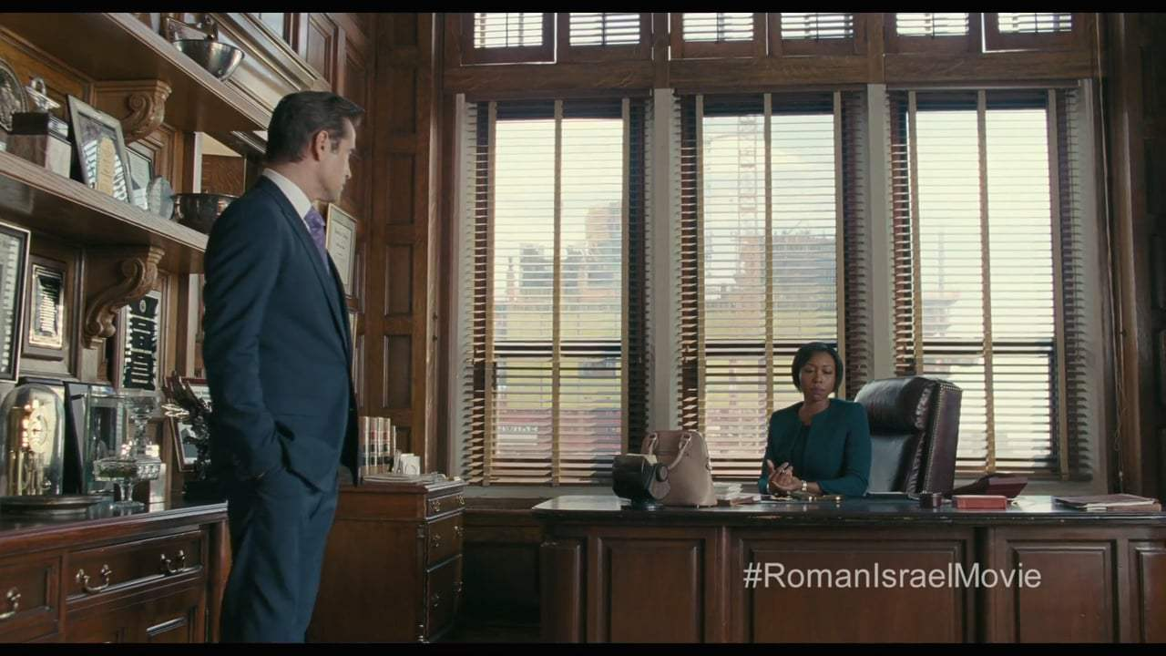 Roman J Israel, Esq. (2017) - Hope Don't Get the Job Done Screen Capture #1