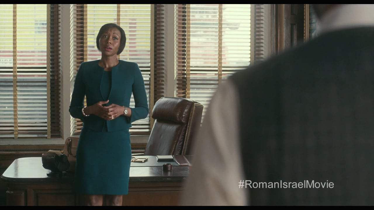Roman J Israel, Esq. (2017) - Hope Don't Get the Job Done Screen Capture #4
