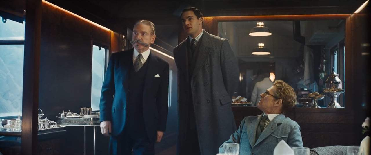 Murder on the Orient Express (2017) - If There Was A Murder Screen Capture #1