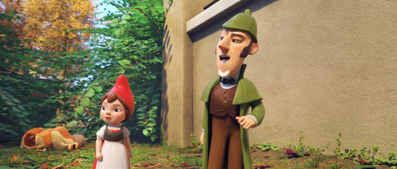 Sherlock Gnomes Trailer (2018) Screen Capture #4
