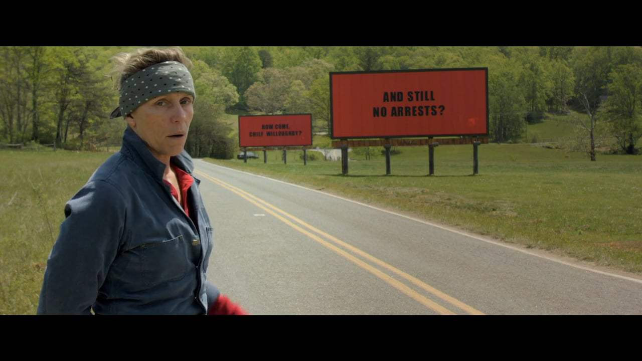 Three Billboards Outside Ebbing, Missouri Featurette - Mildred The Modern Western Woman (2017) Screen Capture #1