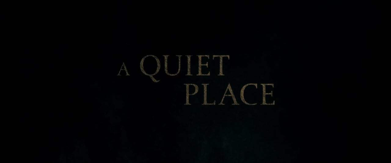 A Quiet Place Trailer (2018) Screen Capture #3